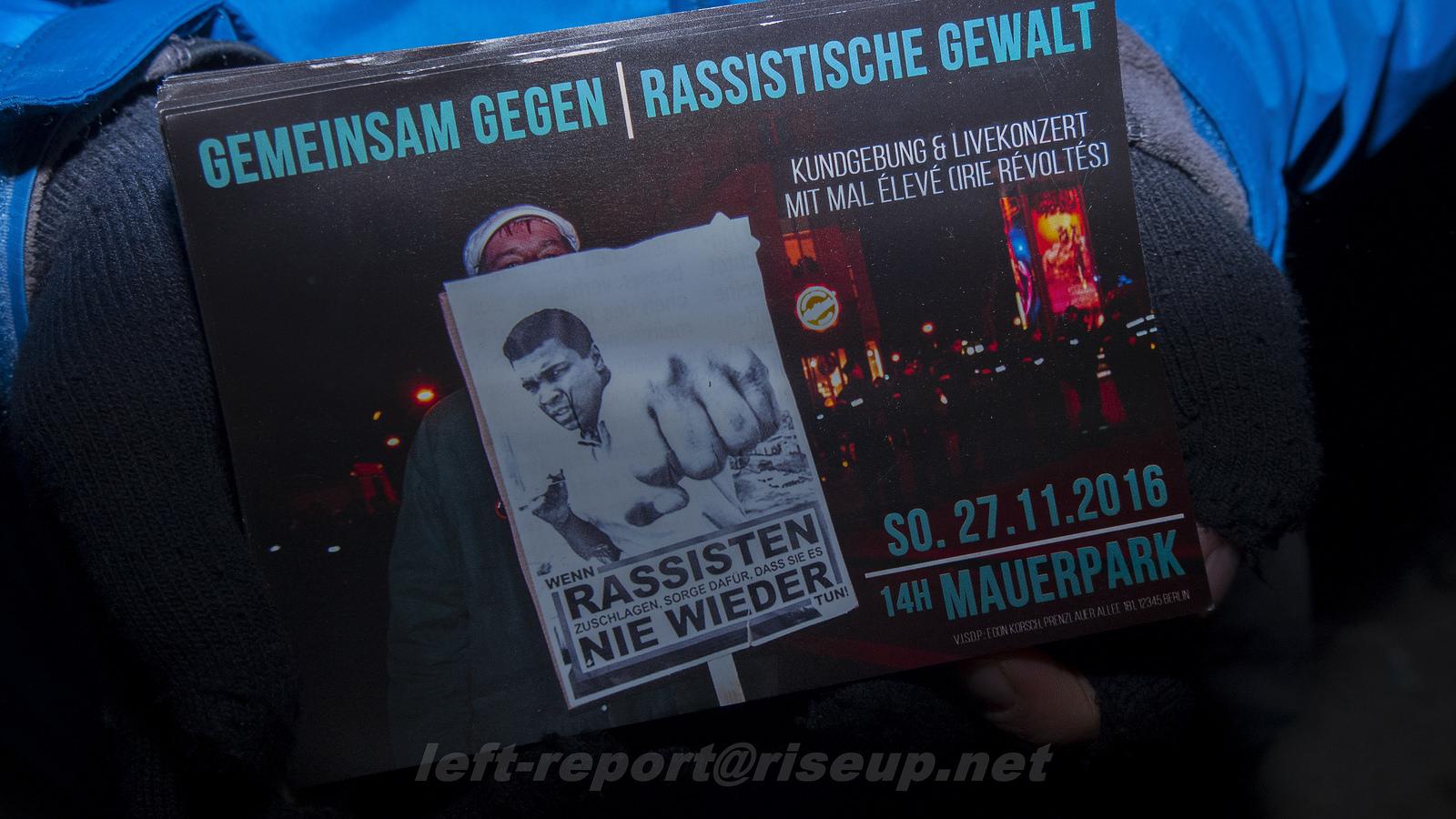 Bilder & Video – Schulter an Schulter gegen Faschismus!