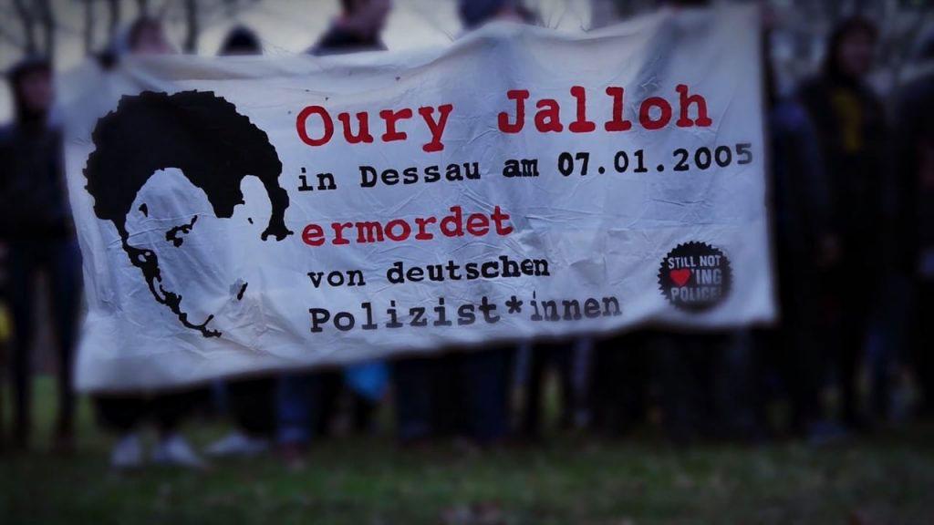 Im Gedenken an Oury Jalloh! – Bericht zum 13. Todestag von Oury Jalloh & Video
