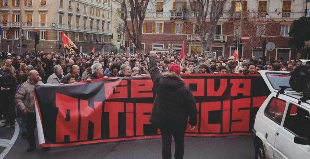 23.01.2018 – Zur Messerattacke auf einen Antifaschisten in Genua