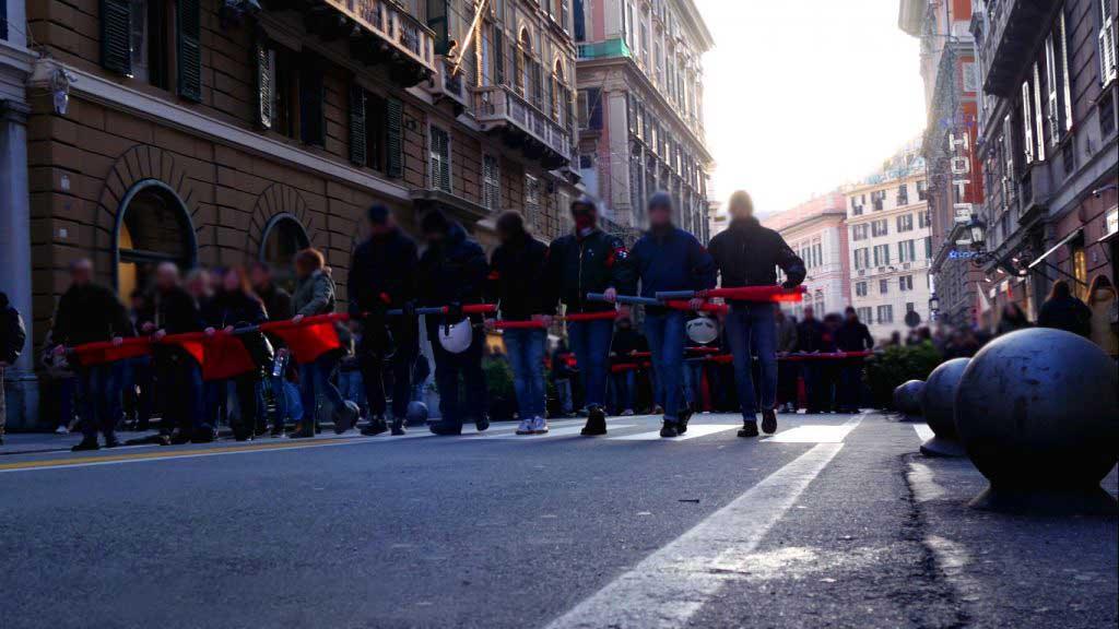 Corteo Antifascista – Videobericht zur Antifa-Demo in Genua am 03.02.2018