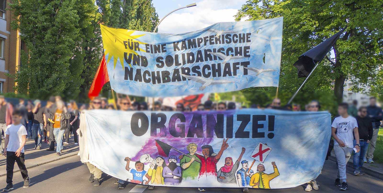 Video, Bilder & Kurzbericht der Organize-Demo 2018