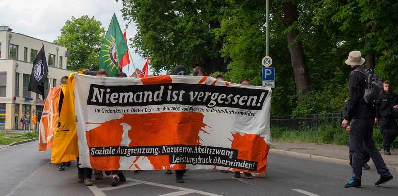 Dieter Eich: Späte Anerkennung für einen rechten Mord